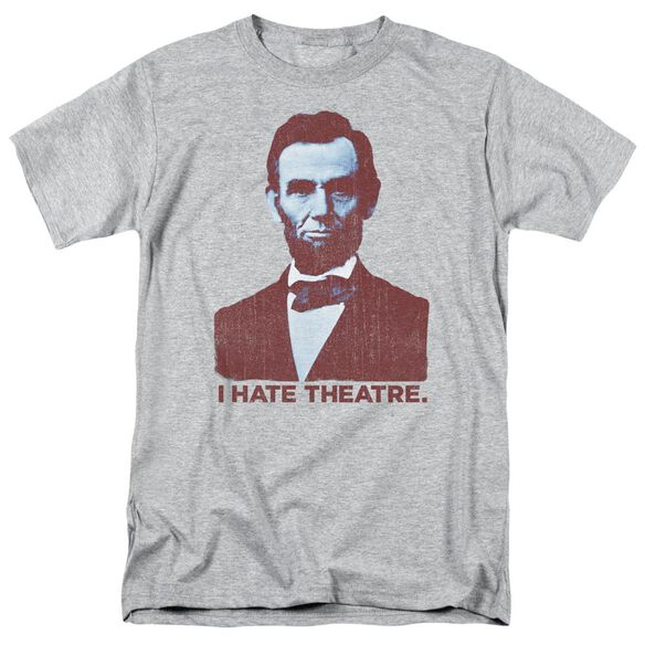 Abe Theatre Short Sleeve Adult Athletic T-Shirt