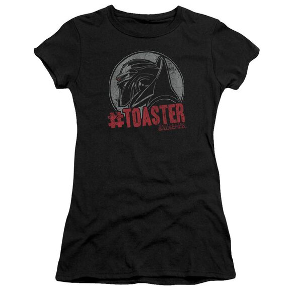 Bsg #Toaster Short Sleeve Junior Sheer T-Shirt