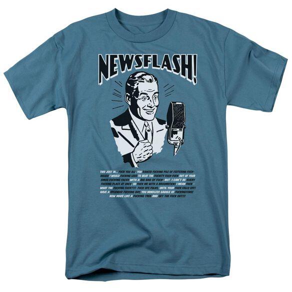 NEWSFLASH - ADULT 18/1 - SLATE T-Shirt