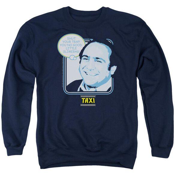 Taxi Shut Your Trap Adult Crewneck Sweatshirt
