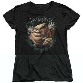Warrant Stinking Rich Short Sleeve Womens Tee T-Shirt