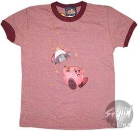 Kirby Umbrella Juniors T-Shirt
