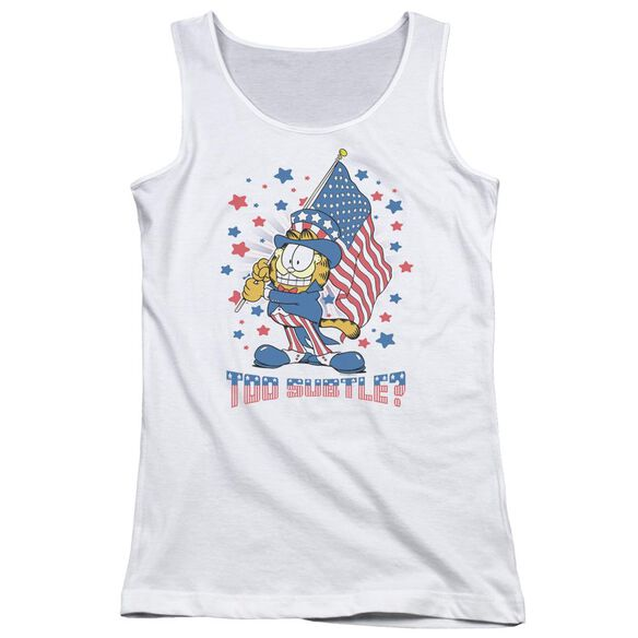 Garfield Subtle Juniors Tank Top