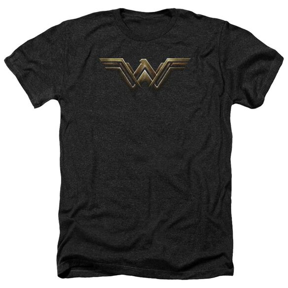 Justice League Movie Wonder Woman Logo Adult Heather