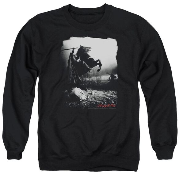 Sleepy Hollow Foggy Night Adult Crewneck Sweatshirt