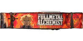 Fullmetal Alchemist Edward Al Flames Seatbelt Belt