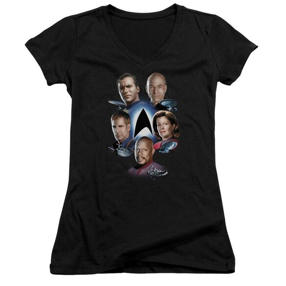 Star Trek Starfleet's Finest Junior V Neck T-Shirt