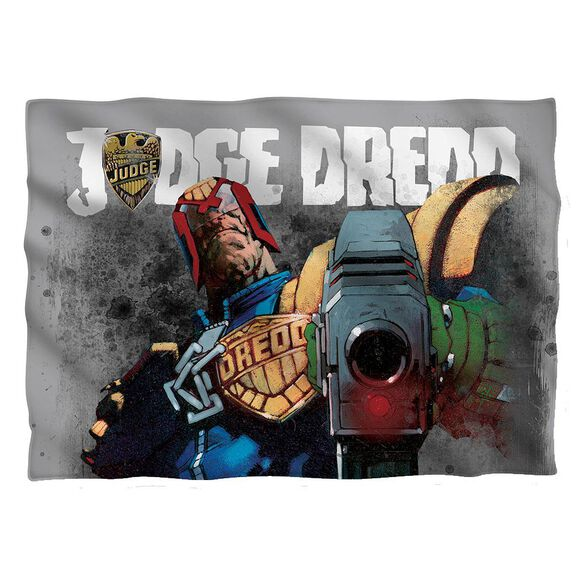Judge Dredd Last Words Pillow Case White