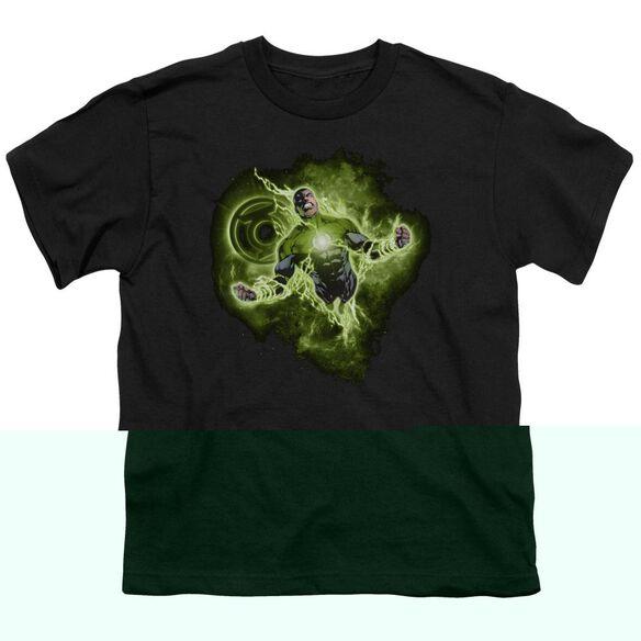 Green Lantern Lantern Nebula Short Sleeve Youth T-Shirt