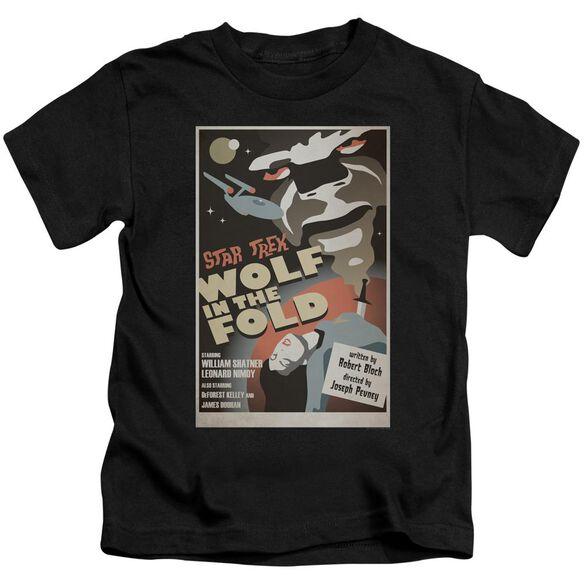 Star Trek Tos Episode 43 Short Sleeve Juvenile Black Md T-Shirt