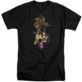 Dark Crystal Crystal Quest Short Sleeve Adult Tall T-Shirt
