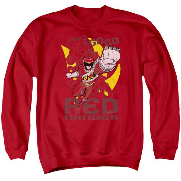 Power Rangers Go Adult Crewneck Sweatshirt