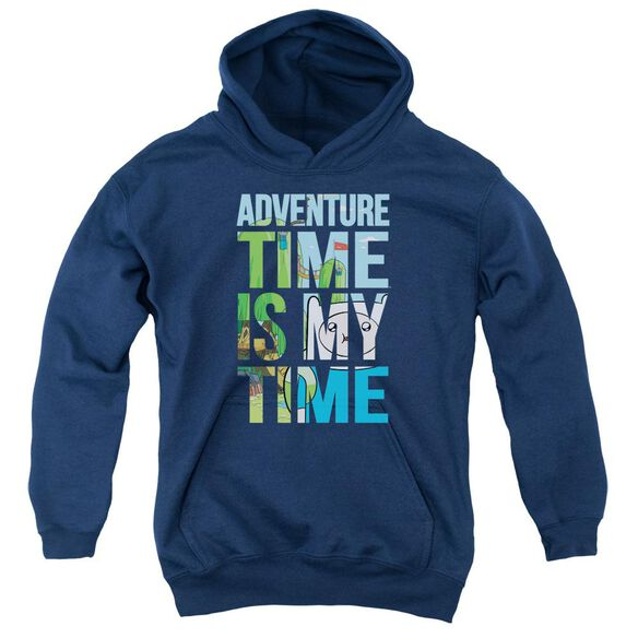 Adventure Time My Time Youth Pull Over Hoodie