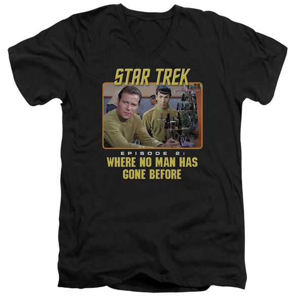 Star Trek Episode 2 Short Sleeve Adult V Neck T-Shirt
