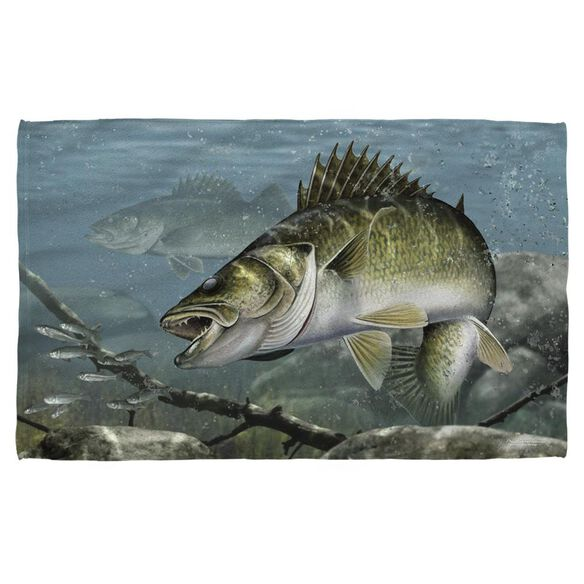 Wild Wings Feeding Frounds 2 Face Hand Towel