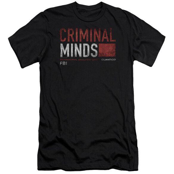 Criminal Minds Title Card-premuim Canvas Adult Slim