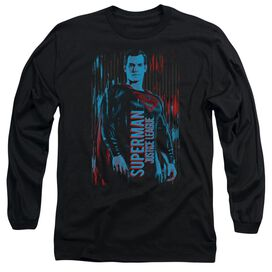 Justice League Movie Superman Long Sleeve Adult T-Shirt