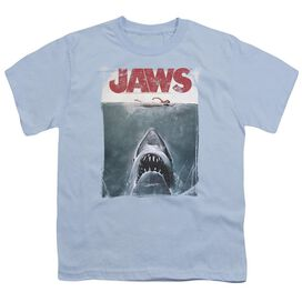 JAWS TITLE - S/S YOUTH 18/1 - LIGHT BLUE T-Shirt