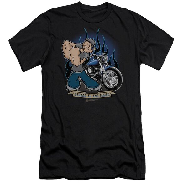 Popeye Biker Popeye Premuim Canvas Adult Slim Fit