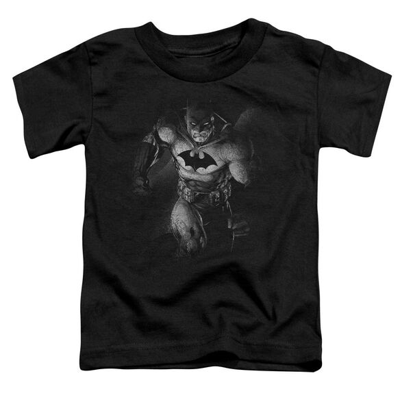 BATMAN MATERIALIZED - S/S TODDLER TEE - BLACK - T-Shirt