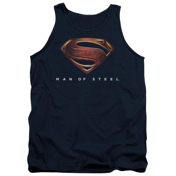 Man Of Steel Mos New Logo Adult Tank