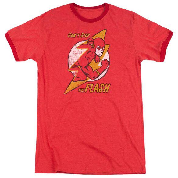Dc Flash Flash Bolt Adult Heather Ringer