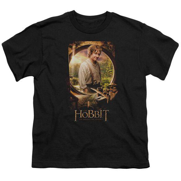 The Hobbit Bilbo Poster Short Sleeve Youth T-Shirt