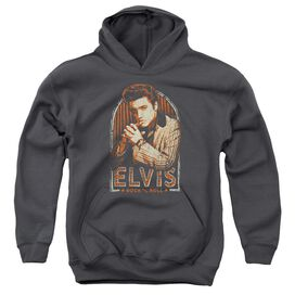 Elvis Stripes Youth Pull Over Hoodie
