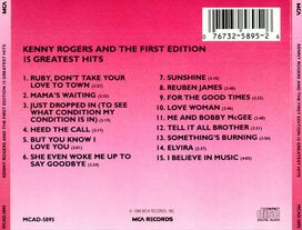 Kenny Rogers & the First Edition - 15 Greatest Hits