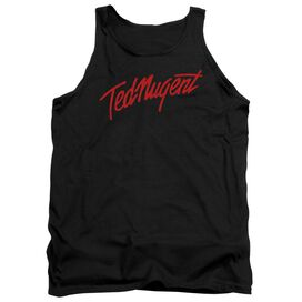 Ted Nugent Distress Logo Adult Tank
