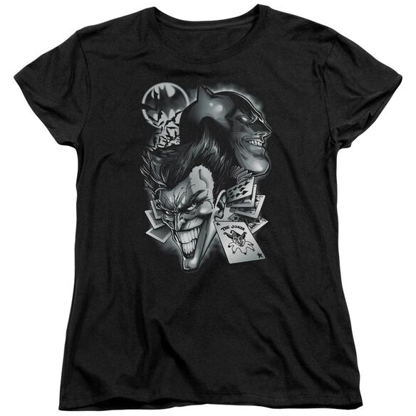 BATMAN ARCHENEMIES - S/S WOMENS TEE - BLACK T-Shirt