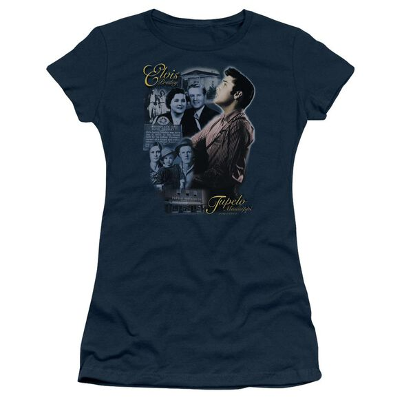 Elvis Tupelo Short Sleeve Junior Sheer T-Shirt