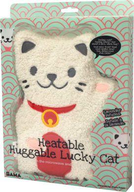 Heatable Huggable Lucky Cat
