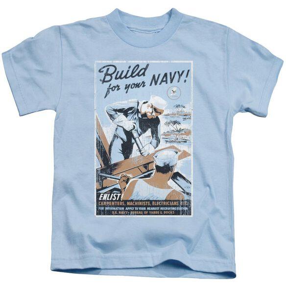 Navy Build Your Navy Short Sleeve Juvenile Light T-Shirt