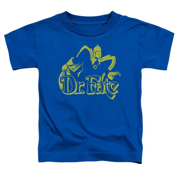 Dco One Color Fate Short Sleeve Toddler Tee Royal Blue T-Shirt
