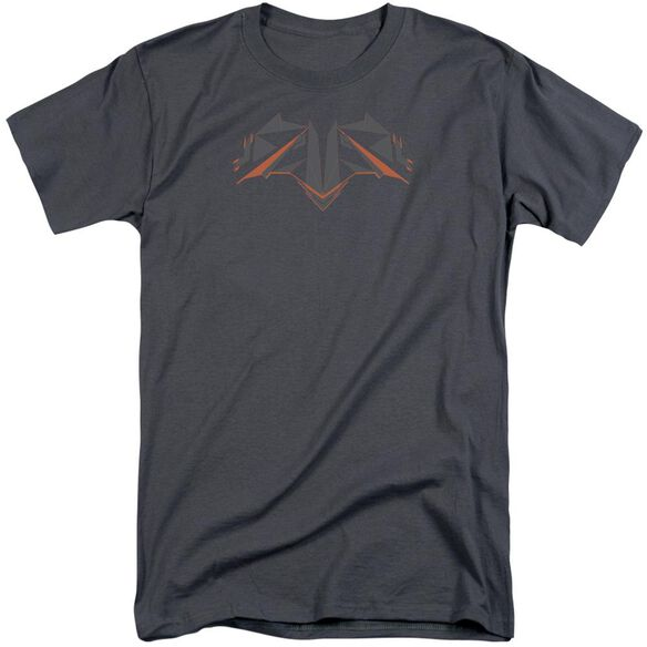 Batman V Superman Tech Bat Logo Short Sleeve Adult Tall T-Shirt