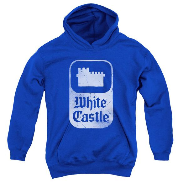 White Castle Classic Logo Youth Pull Over Hoodie