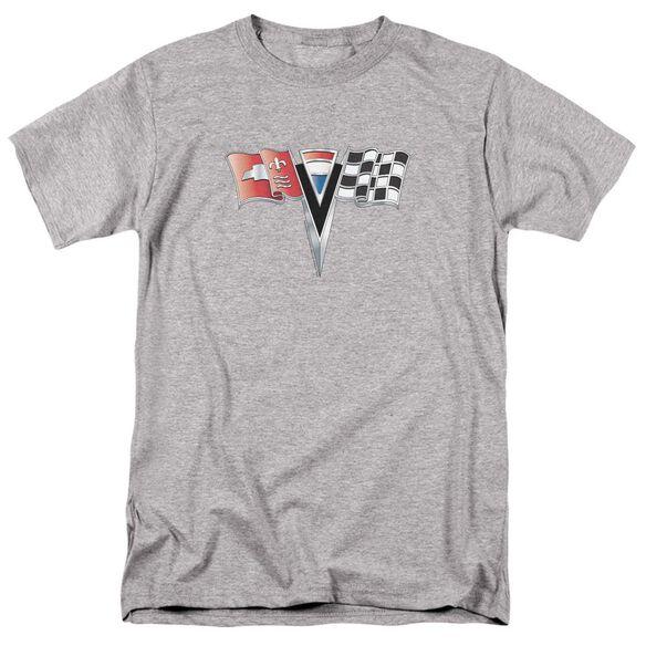 Chevrolet Nd Gen Vette Nose Emblem Short Sleeve Adult Athletic T-Shirt