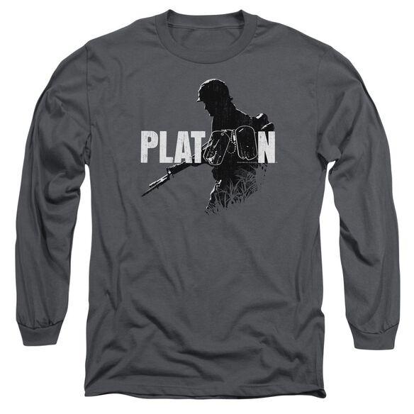 Platoon Shadow Of War Long Sleeve Adult T-Shirt