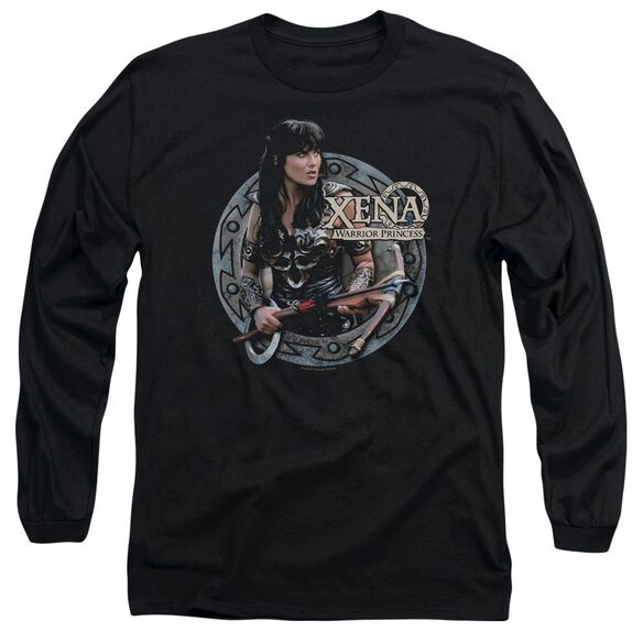 Xena The Warrior Long Sleeve Adult T-Shirt