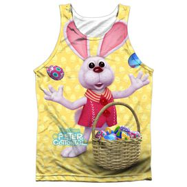 Here Comes Peter Cottontail Basket Of Eggs-adult 100% Poly
