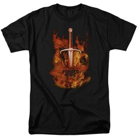 Forged In Fire Sword In Fire Short Sleeve Adult T-Shirt