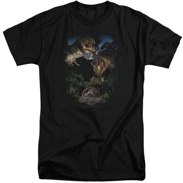Jurassic Park Happy Family Short Sleeve Adult Tall T-Shirt