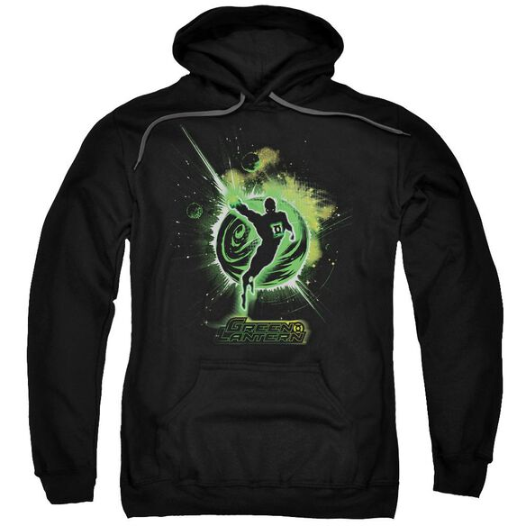 Green Lantern Shadow Lantern Adult Pull Over Hoodie