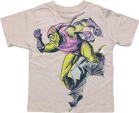 Spiderman Green Goblin Double Sided Toddler Shirt