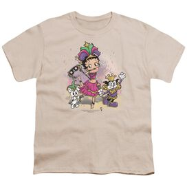 Betty Boop Celebration Short Sleeve Youth T-Shirt