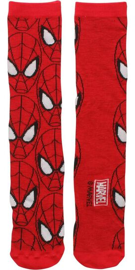 Spiderman Face All Over Socks