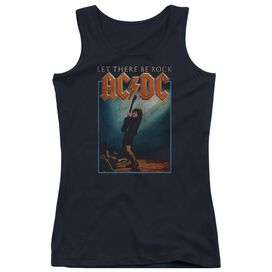 Acdc Let There Be Rock Juniors Tank Top