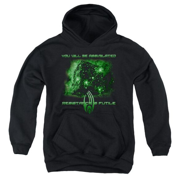 Star Trek Assimilate Youth Pull Over Hoodie