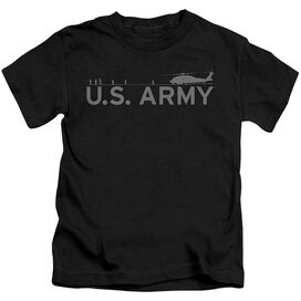 Army Helicopter Short Sleeve Juvenile Black Md T-Shirt